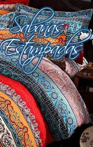 sábanas de algodón, de poliéster, juego de sábanas, Sábanas estampadas originales