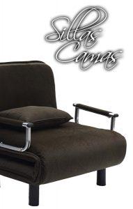 Sillas Camas, sillones pequeños, sillas desplegables, sillones desplegables